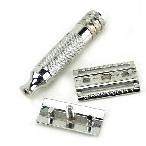 """Your Choice"" Safety Razor, Stand & Blades-Traditional"