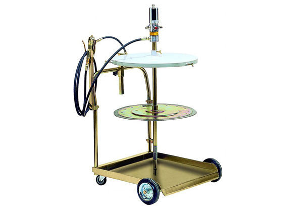 RAASM Mobile Grease Dispenser Kit 180-220kg Drum - EMCO