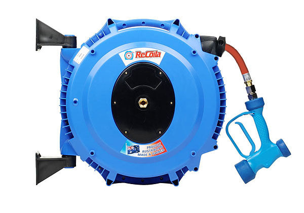 RECOILA Hot Water Reel with Gun 12mm x 15M - EMCO