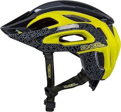 neal Orbiter Enduro Style Fidlock MTB Bike Bicycle Helmet Black Yellow