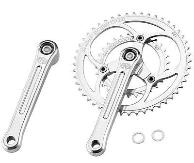 Dia-Compe ENE Ciclo Double Crankset Chainset Road Racing Bike 48/36T 170mm