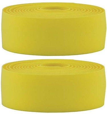 BBB Road Racing Bicycle Drop Handlebar Tape Synthetic Cork Yellow
