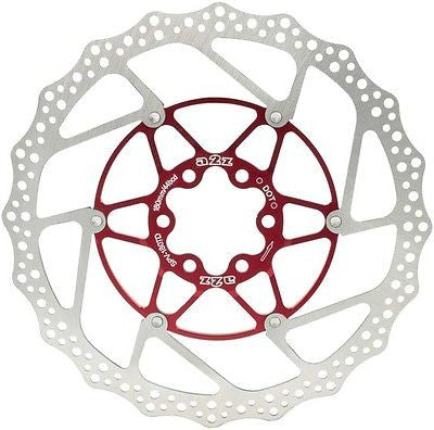 160mm 6 bolt hydraulic floating disc brake rotor mtb bicycle bike red