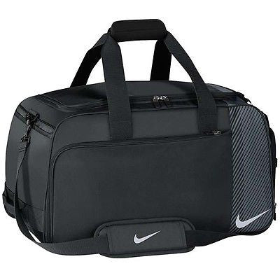 Nike Sports Exercise Gym Fitness Golf Overnight Weekend Holdall Bag Black