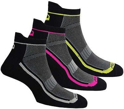 3 pair polaris coolmax cycle cycling socks mtb