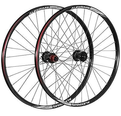 "Alex Chosen 26"" Rear QR Quick Release Trail Enduro MTB Bike TR Wheel Black"