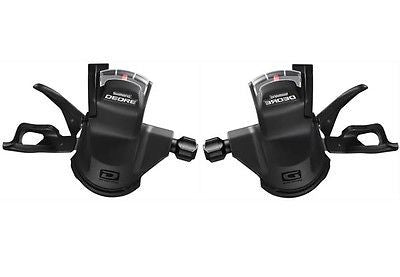 Shimano Deore 10 Speed Gear Trigger Shifters Rapidfire Pods SL-M610 MTB Bike