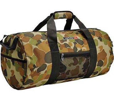 Caribee Australian camo camouflage sport gym exercise bag holdall mens mans