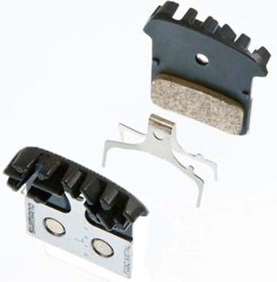 Shimano Own Brand XTR XT SLX Alfine Metal Disc Brake Pads with Cooling Fin MTB