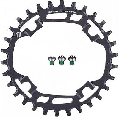 SRAM X-SYNC 1x11 Chainring Chain Ring 94BCD Steel 30T 30 Teeth XSYNC 11 speed