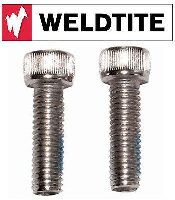 Weldtite M6 X 35mm Bolts (2) Disk Brake Mounting Bolt Stainless Bike Fitting x2