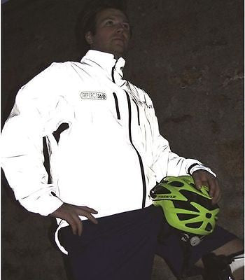 Proviz Reflect 360 reflective high visibility cycle cycling jacket