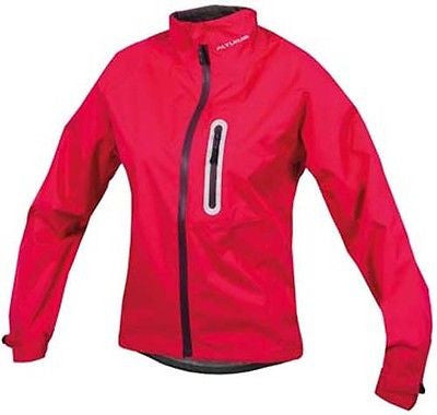 Altura Nevis II Women's Girls Waterproof MTB Mountain Bike Cycle Jacket Raspberry Red