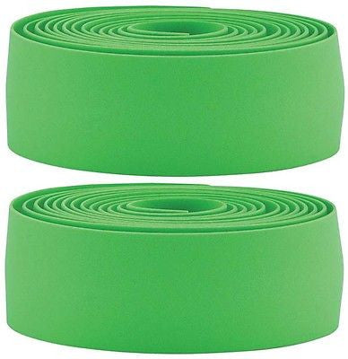 BBB Road Racing Bicycle Drop Handlebar Tape Synthetic Cork Green