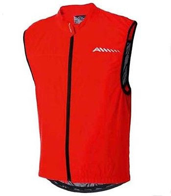 Altura Etape Lightweight Windproof Gilet Road Racing Bike Bicycle MTB Red Medium
