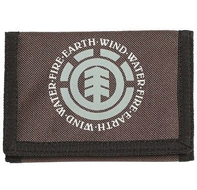 Element Elemental Wallet Mens Mans Boys Brown Ripper Style * CLEARANCE SALE