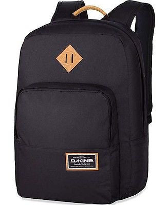 "Dakine Capitol 15"" Laptop Backpack Rucksack Daypack College Student School Black"
