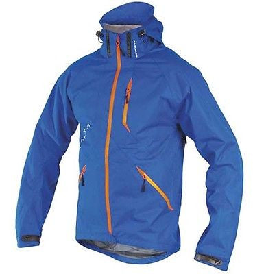 altura mayhem waterproof cycle mtb jacket blue