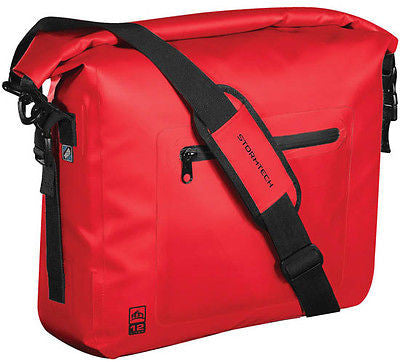 Stormtech Waterproof Laptop Messenger Shoulder Dispatch Student College Bag Red