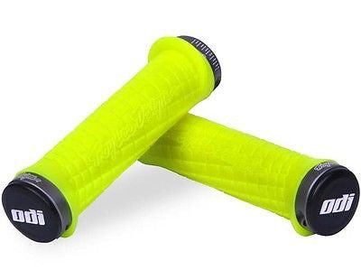 ODI Troy Lee Lock on MTB Handlebar Grips in yellow Troylee