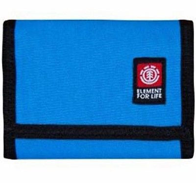 Element Funder Mens Mans Boys Blue Wallet Tri-fold