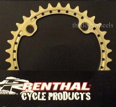 Renthal Ultralite SR4 Chainring 104BCD MTB Mountain Bike CNC 7075 Alloy Chain Ring