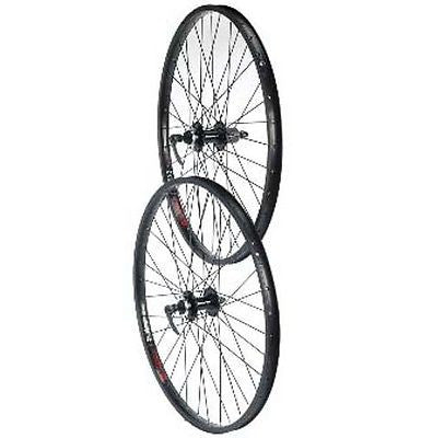 "26"" MTB Bicycle DH Bike Jump Disc Wheels Q/R 22mm Dbl Wall Rims Wheelset"