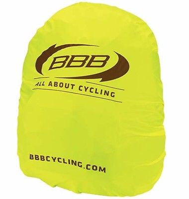 BBB High visibility waterproof rucksack backpack rain cover yellow
