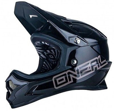 O'neal Backflip RL2 Full Face DH Downhill MTB Bike Helmet Fullface Fidlock Black