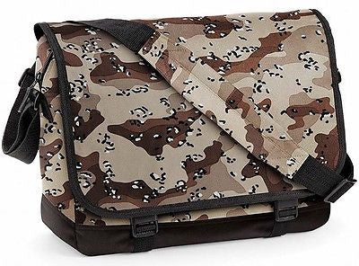 Desert Camo Camouflage Messenger Shoulder Dispatch Student College Bag Manbag