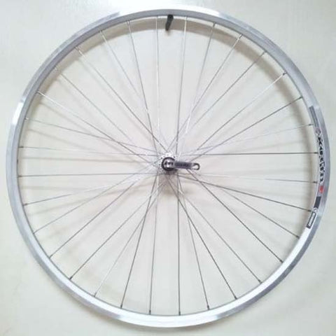 Wilkinson 700c Narrow Classic Retro Road Bike Front Wheel QR Rim Brake Silver