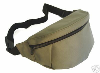 Bum Belt Hip Waist Bag Bumbag Olive Bicycle Bike Cycle Hiking Walking Travel backpack