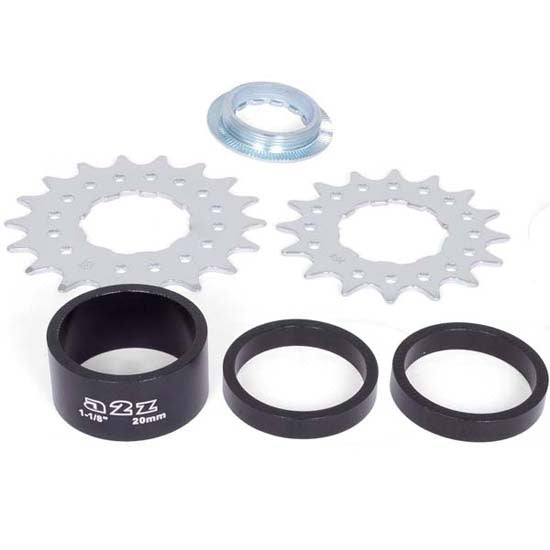 A2Z Bicycle Single Speed Conversion Convertor Kit 16T 18T Sprocket Cog 16 18 Tooth