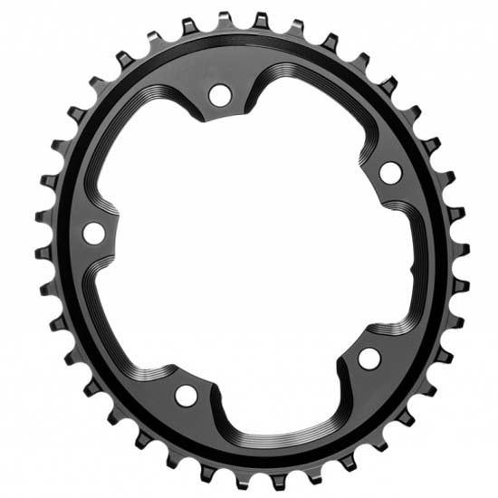 Absolute Black Oval Chainring 40T 110BCD 5 Bolt