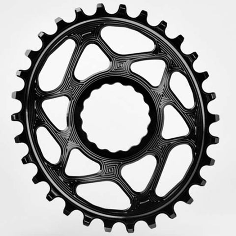 Absolute Black Mountain Bike MTB 32T Oval Chainring RaceFace Cinch Direct Mount 6mm offset