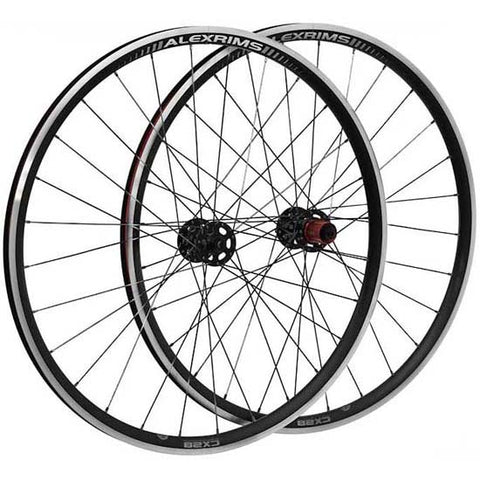 Alex Chosen CX28 700C Cyclocross CX Road Racing Bike Bicycle Sealed Disc & Rim Wheels Wheelset TR