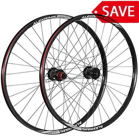 "Alex Chosen 26"" Front 15mm Trail MTB Bike Tubeless Ready Wheel Black"