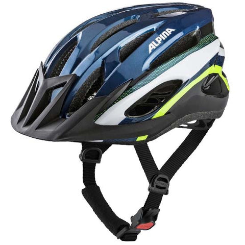 Alpina MTB17 Mountain Bike MTB Bicycle Helmet Dark Blue / Neon