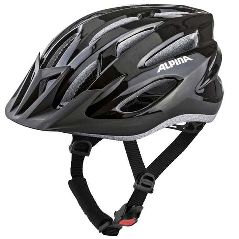 Alpina MTB17 Mountain Bike MTB Bicycle Helmet in-mould Mens mans Black