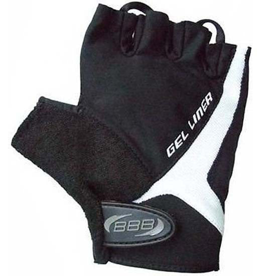 BBB Gel Padded Gloves Mitts Cycling Cycle MTB Bicycle Bike Mens Black