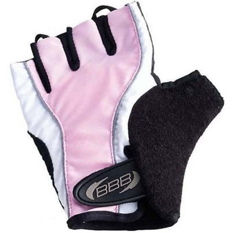 BBB Ladies Womens Girls Cycle Cycling Mitts Gloves MTB Bicycle Bike Pink
