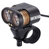 BBB Scope 1300 Lumens Front Rechargeable MTB Mountain Bike Bicycle Light