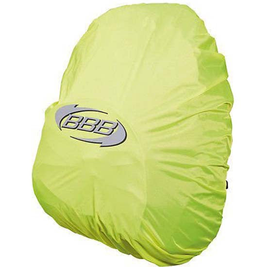 High Visibility Hi Viz Rain Cover Backpack Rucksack Fluorescent Yellow MTB Bike