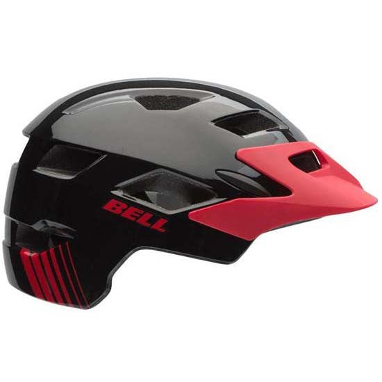 Bell Sidetrack Youth Boys / Girls MTB Helmet 50-57cms Red Black