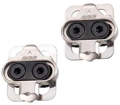 BBB shimano compatible SPD pedal cleats 4 degree float