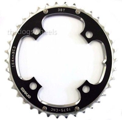 One23 Chain Ring 104mm BCD 38T 7075 CNC Alloy MTB Bicycle Bike Chainring 38Teeth