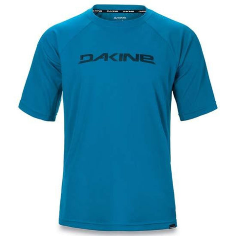 Dakine Rail Short Sleeve Mountain Bike MTB cycle Jersey Moroccan Blue