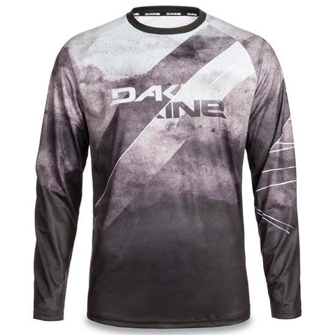 Dakine thrillium DH Downhill Mountain Bike Long Sleeve Jersey black / white