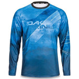 Dakine thrillium DH Downhill Mountain Bike Long Sleeve Jersey Midnight Blue Rock