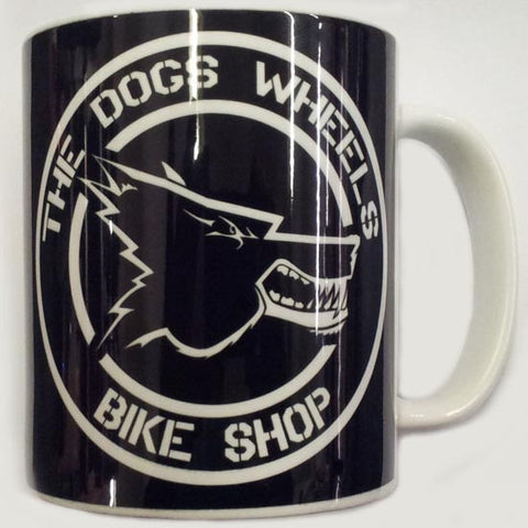 The Dogs Wheels Bike shop Mug